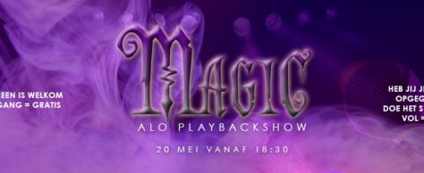 De ALO Playbackshow komt er weer aan!