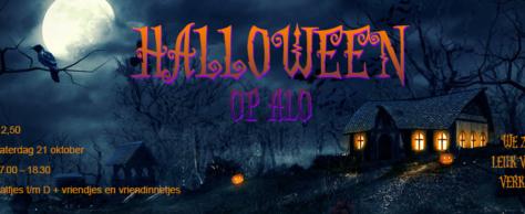 Halloween op ALO! Durf jij te komen?