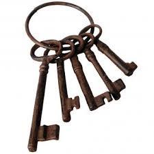 Trainer zoekt sleutel