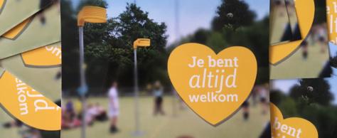 Je bent altijd welkom!