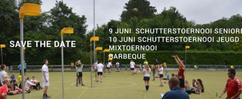 Programma eindfeest 9 en 10 juni – Schutterstoernooi en Mixtoernooi