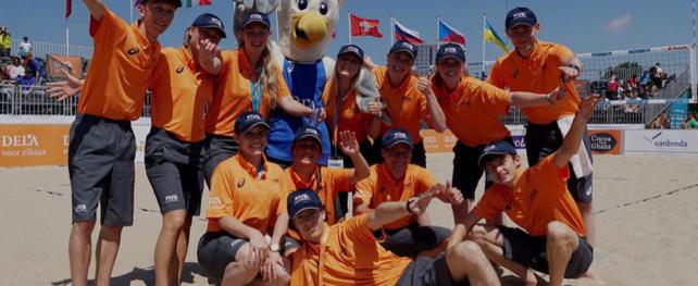 EK Beachvolleybal zoekt vrijwilligers