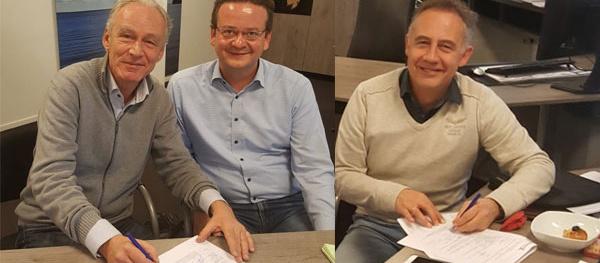 Contract met aannemer Dijkxhoorn getekend