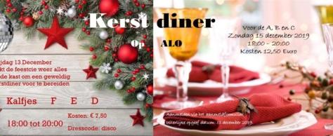 Kerst op ALO voor A, B en C