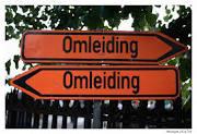Omleiding toegangsweg sporthal Ockenburgh