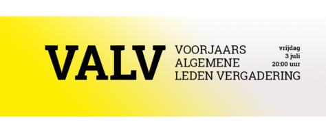 Schrijf je in voor de VALV van 3 juli