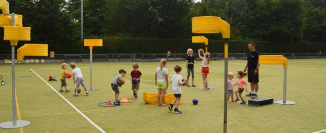 Kennismakingscursus korfbal voor kinderen