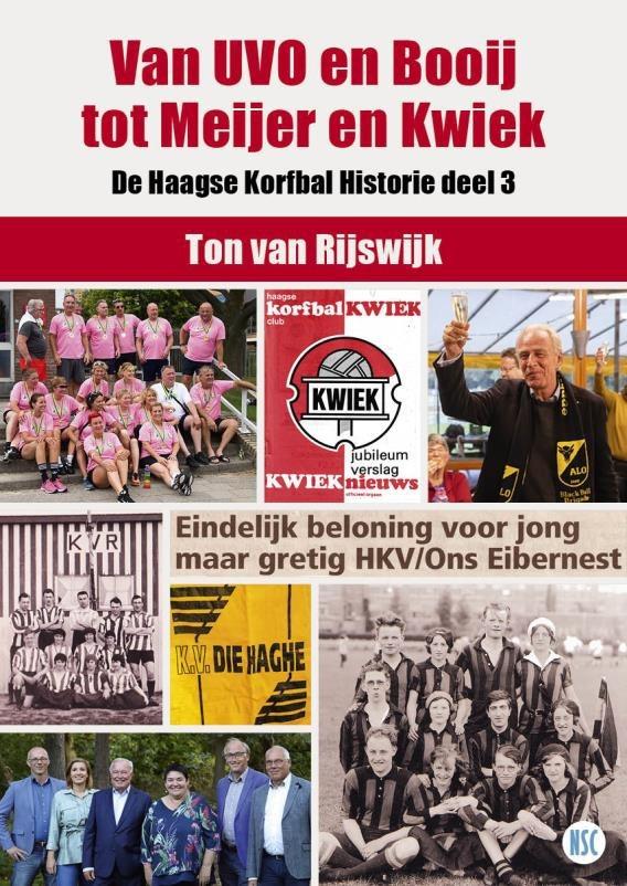 Inschrijven voor het 3e deel Haagse Korfbal Historie