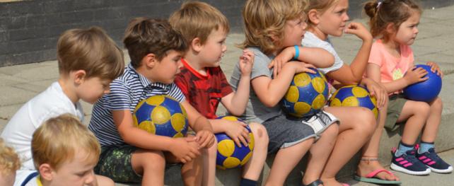 Al 19 kinderen doen mee met de speciale kinderactie