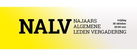 Aanmelden voor online NALV op 30 oktober