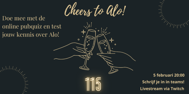 Cheers to ALO