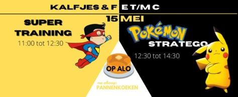 Super(helden)training zaterdag 15 mei