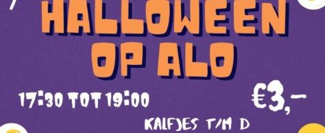 Zaterdag 6 november: Halloweenfeest